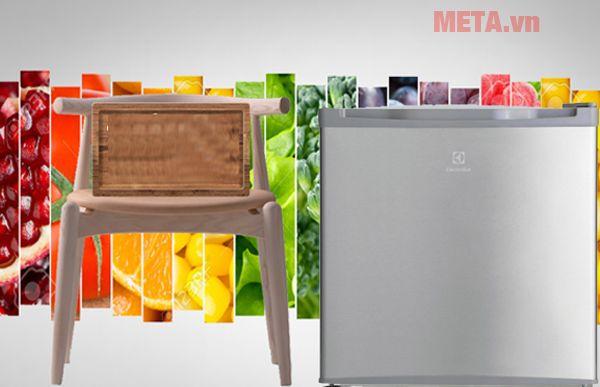 Tủ lạnh mini 50L Electrolux EUM0500SA/ SB