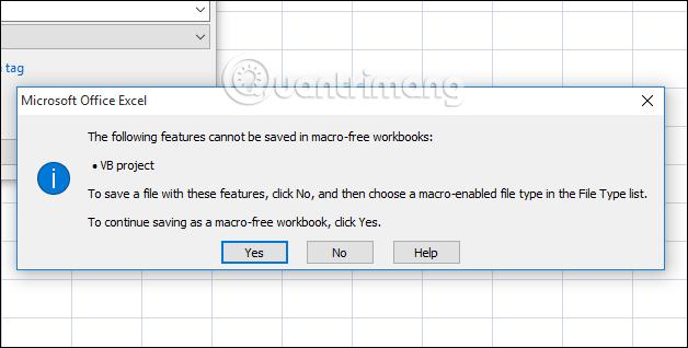 Cách lưu file Excel chứa code Macros VBA - Ảnh minh hoạ 2