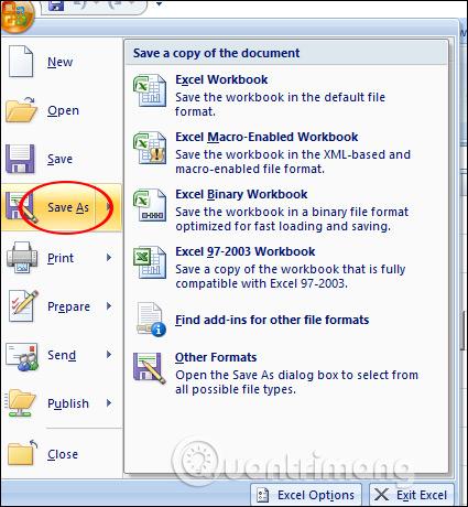 Cách lưu file Excel chứa code Macros VBA - Ảnh minh hoạ 3