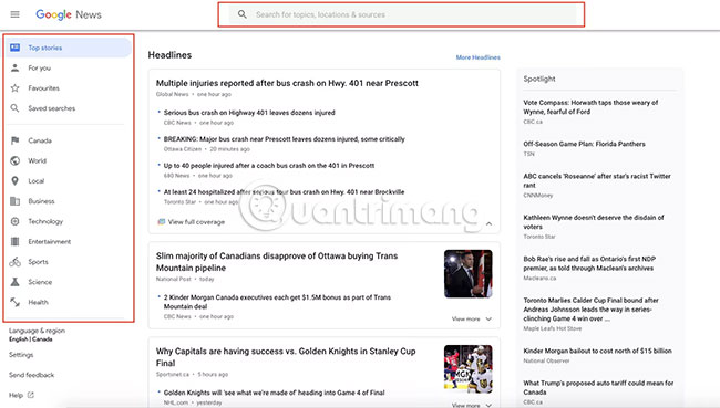 Google News Rss Feed