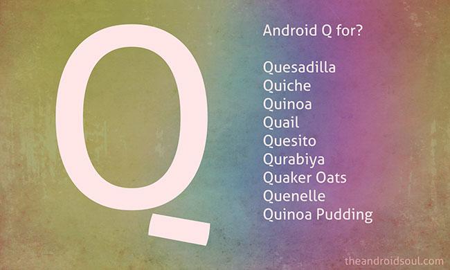 Khi nào Android Q được phát hành?
