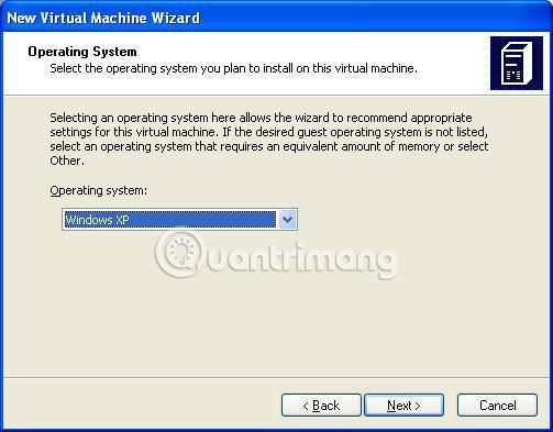 Sử dụng máy ảo để chạy Windows XP