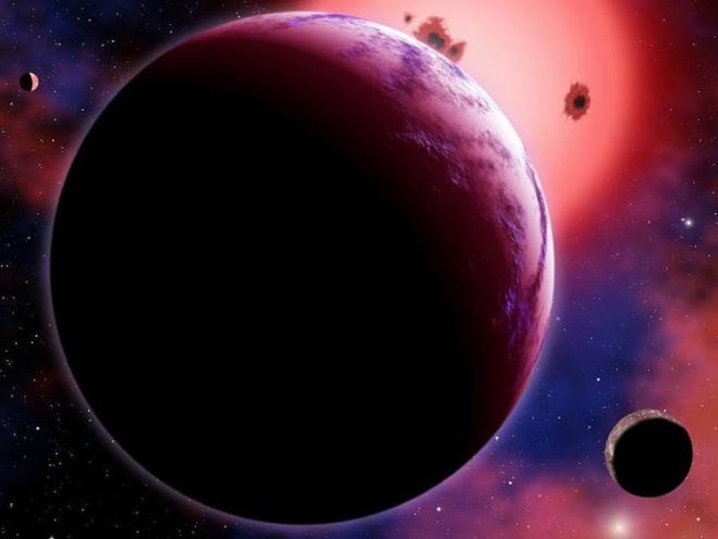 Công viên nước khổng lồ Gj 1214b
