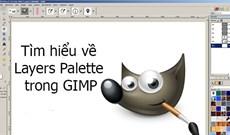 Tìm hiểu về Layers Palette trong GIMP