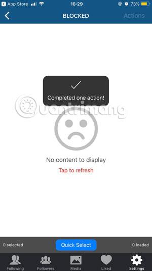 Cách chặn và bỏ chặn người dùng trên Instagram - Ảnh minh hoạ 10