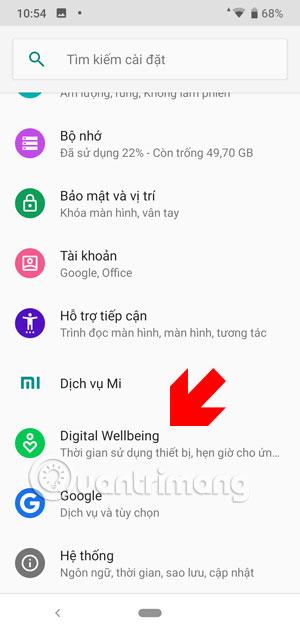 Ứng dụng cài đặt Android