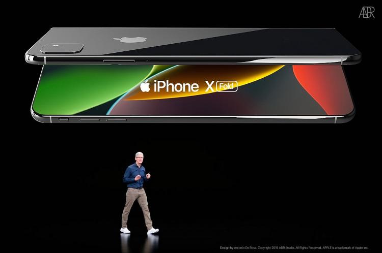 Smartphone màn hình gập của Apple 4