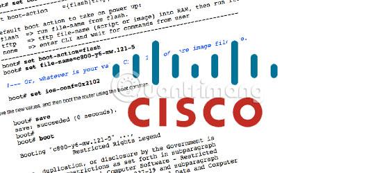 Làm chủ các lệnh trong Cisco IOS
