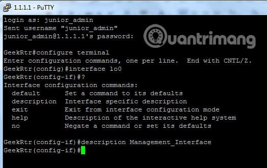 10 lệnh cần thành thạo khi làm việc với Cisco IOS