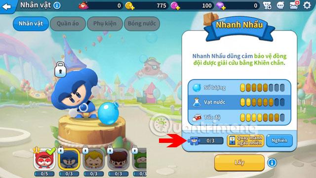 Thiếu mảnh để mở khóa nhân vật Boom Mobile