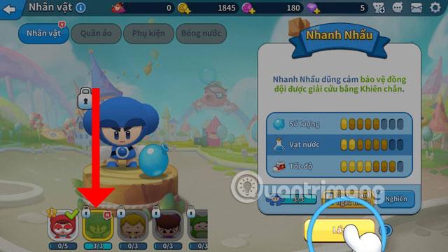 Nhận nhân vật Boom Mobile