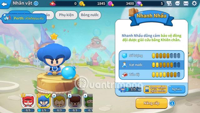 Mở nhân vật Boom Mobile