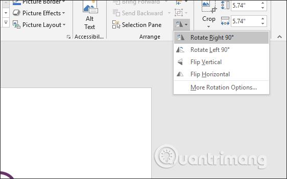 Cách lật, xoay hình ảnh trên PowerPoint - Ảnh minh hoạ 5