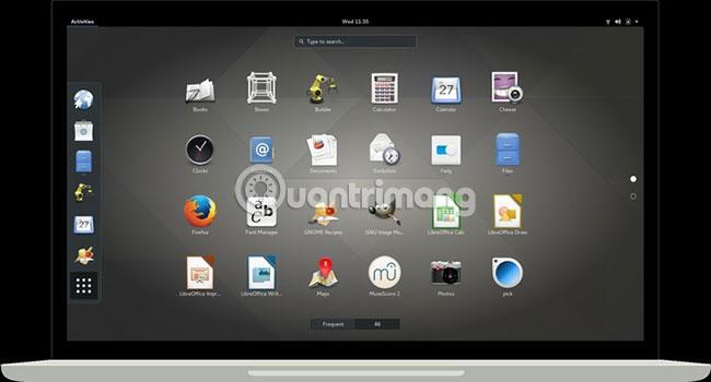 Môi trường desktop dựa trên GNOME