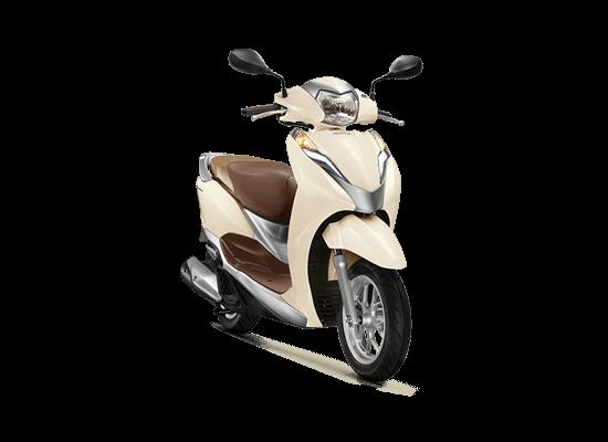 Honda Lead phiên bản tiêu chuẩn màu trắng ngà