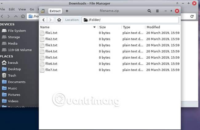 Cách giải nén file Zip trên máy tính - Quantrimang com