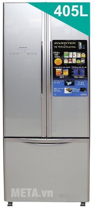Tủ lạnh 405 lít Hitachi WB475PGV2