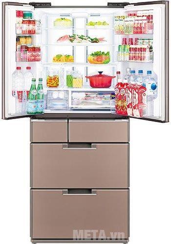 Tủ lạnh 470 lít Sharp SJ-GF60A-T