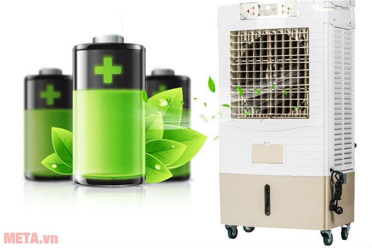 Quạt điều hòa là lựa chọn làm mát tiết kiệm điện lý tưởng cho ngày hè.