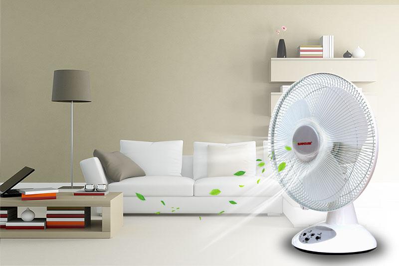 Quạt tích điện Sunhouse với nhiều ưu điểm nổi bật