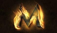 Tạo hiệu ứng chữ lửa cháy siêu thực bằng Photoshop