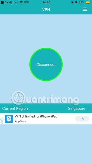 Connect IP thành công