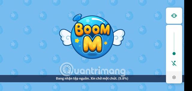 Bắt đầu cập nhật Boom Mobile