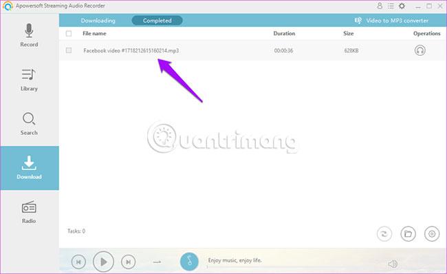 5 cách tách âm thanh từ video Facebook không cần phần mềm - Ảnh minh hoạ 13