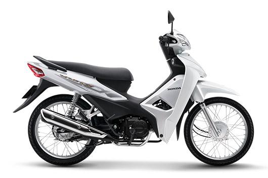 Honda Wave Alpha 2019 màu trắng