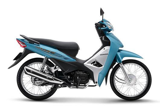Honda Wave Alpha 2019 màu xanh
