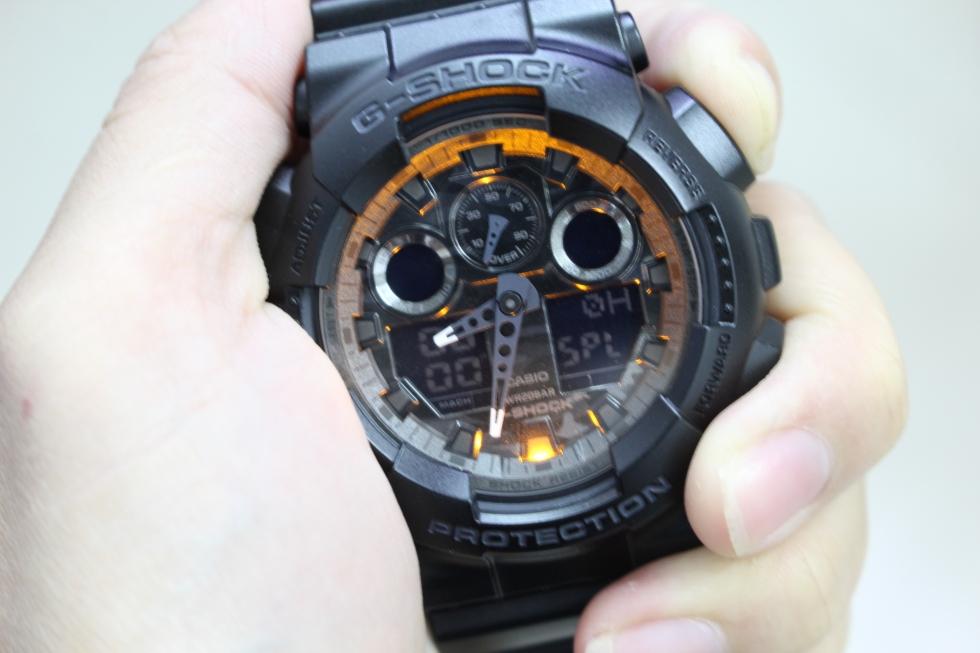 chế độ đèn trên đồng hồ G Shock