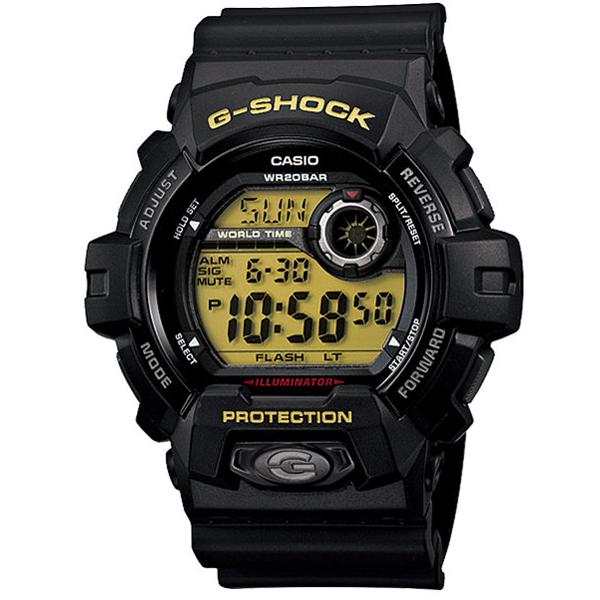 4 nút điều khiển được bố trí bên hông đồng hồ G Shock