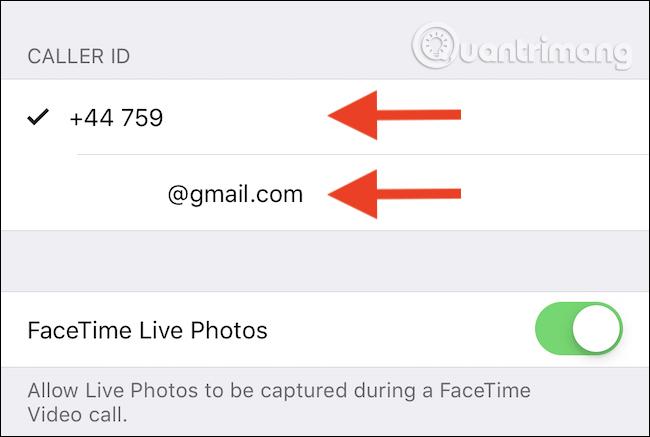 Chạm vào số điện thoại hoặc email để thay đổi