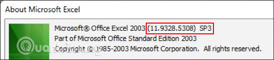 Cách kiểm tra phiên bản Excel đang sử dụng - Ảnh minh hoạ 2