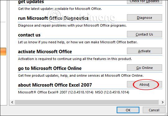 Cách kiểm tra phiên bản Excel đang sử dụng - Ảnh minh hoạ 5