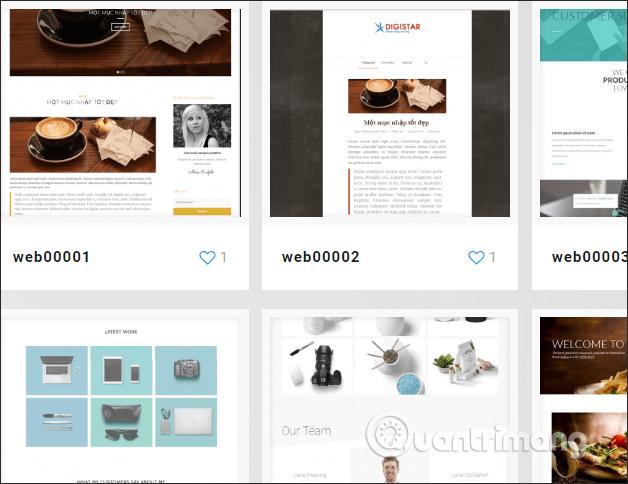 Thiết kế website trên DIGIWEB