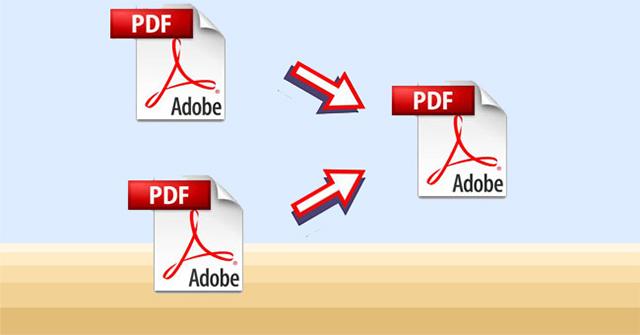 Hướng dẫn ghép nhiều file PDF thành một file PDF
