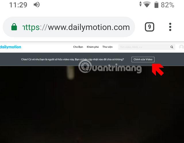 Hướng dẫn up video lên Dailymotion trên điện thoại - Ảnh minh hoạ 11