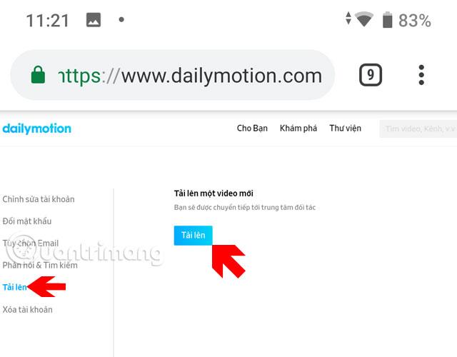 Hướng dẫn up video lên Dailymotion trên điện thoại - Ảnh minh hoạ 6