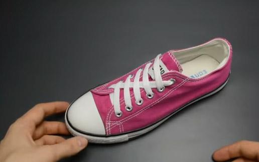 Cách buộc dây giày kiểu Lightning