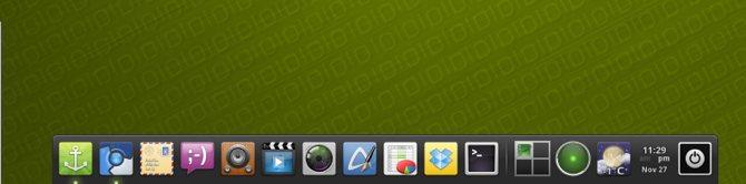 Cài đặt dock kiểu macOS