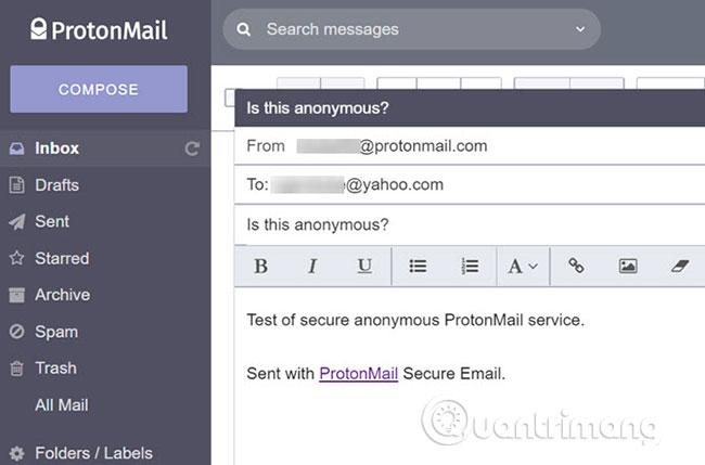 Dùng ProtonMail