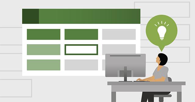 Cách cố định hình khối chèn trong Excel