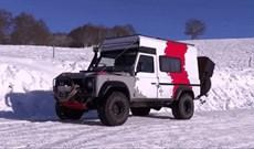 Chiếc Land Rover Defender 'siêu đẳng' có thể biến hình thành căn nhà di động tiện nghi chỉ trong 43 giây
