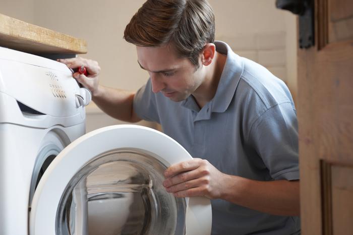 Dòng nước chảy vào yếu làm ảnh hưởng đến hoạt động của máy giặt
