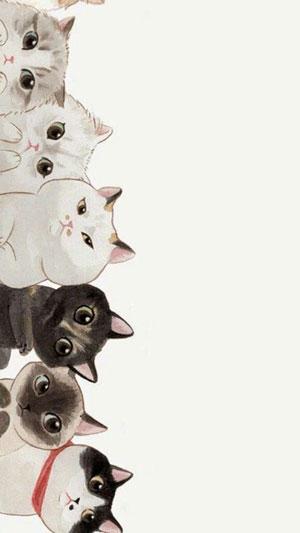 Hình nền mèo cute 2