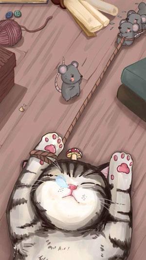Hình nền mèo cute 20