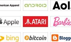 Mời tham khảo và tải về font chữ cực đẹp từ logo các thương hiệu lớn