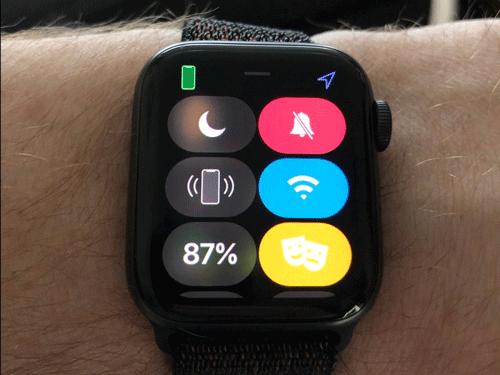 Chế độ Theater ngăn Apple Watch phát sáng trong phòng tối