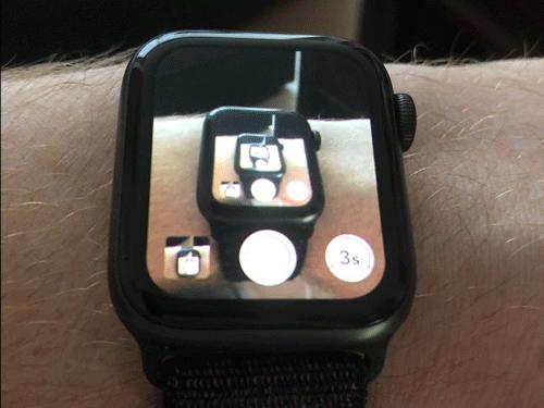 Apple Watch có thể chụp ảnh